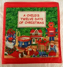 A Child's Twelve Days of Christmas  Fabric Book