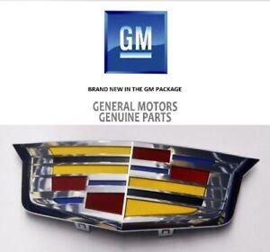 Cadillac CTS CT6 Grille Emblem 2014-2018 Genuine GM OEM Logo