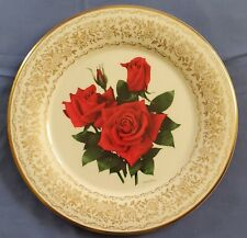 Gorham 1979 American Pride & 1974 Red Masterpiece Rose Of The Year Plate 10.5