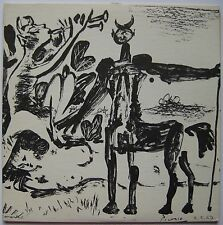 PICASSO PABLO SERIGRAPHIE 1959 SIGNÉ SIGNED SILKSCREEN POCHETTE VINYLE RECORD