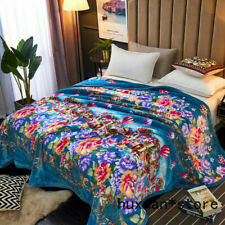 Large Blanket for Spring Grade A Blanket Quilt Bed Cover Super Warm Soft Baroque