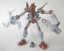 LEGO 8689 Bionicle Karda Nui Mistika Toa Tahu With Ghost Blaster Arrows (Pre-Own