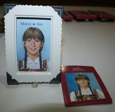 NEW American Girl Molly 1944 Framed Picture 2003 Hallmark Collectible Series