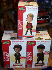 Home Alone Movie Bobblehead Head Knocker Set Neca Toy Xmas Film Kevin Marv Harry