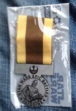 Star Wars Epic Battles 2015 TATOOINE MEDALLION Promo Toys R Us Medal In Package