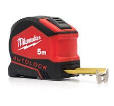 MILWAUKEE | Flessometro Magnetico 5 Metri Serie Autolock | Metro a Nastro 5mt