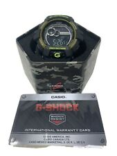 Casio GLS8900CM-1 G-Shock 55MM Men's Black Rubber Watch