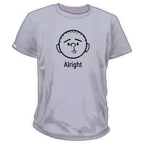 Karl Pilkington, Alright Unisex T-shirt / Idiot Abroad / Ricky Gervais