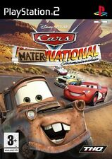 Disney PIXAR Cars Mater-National Championship Sony PlayStation 2 PS2 Brand New