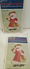 Vintage - Felt Originals, Felt Old World Mrs Santa Claus Ornament Kit  1960s