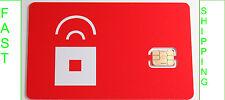 HTC One M8 NANO SIM red pocket NANO sim card