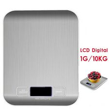 10KG/22lb Digital Kitchen Weight Scale LCD Electronic Diet Food Device Balance