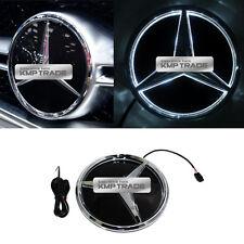 Illuminated LED Light Front Grille Star Emblem Badge for Mercedes Benz 13-17 Car