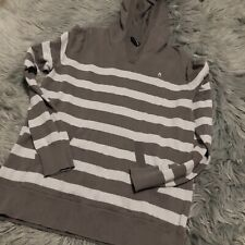 Nixon Mens Pullover Cotton Hoodie Sweatshirt Skate Snow Surf Gray Small