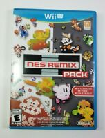 NES Remix Pack (Nintendo Wii U, 2014) CIB TESTED