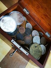 Old Various Mixed Coins Job Lot. Comes With Box.