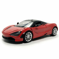 2019 McLaren 720S Supercar 1:32 Scale Model Car Diecast Toy Vehicle Red Kids