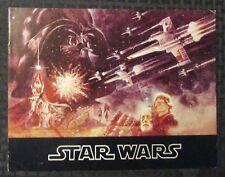 "1977 STAR WARS Episode IV A New Hope 11.5x9"" Souvenir Program FN- 5.5 20pgs"