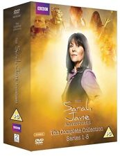 The Sarah Jane Adventures . The Complete Series . Season 1 2 3 4 5 . 12 DVD NEU