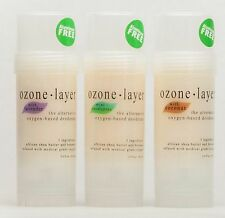 Ozone Layer Deodorant - All Natural and Guaranteed (TOP SELLER 3-PACK)