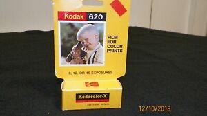 Vtg Kodak Kodacolor X CX  620  Film Develop before dated 1978 Very Rare