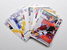 2012-13 KHL CSKA Moscow Full 18-Card Base Set