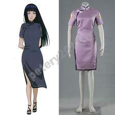 Naruto The Last the Movie Hinata Hyuga Cosplay Costume Cheongsam Clothing