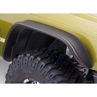 Bushwacker 10063-07 Front Fender Flares Flat Style For 84-01 Jeep Cherokee (XJ)