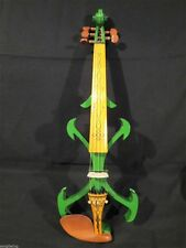 Best model SONG Top art Crazy-2 green color 5 strings 4/4 electric violin