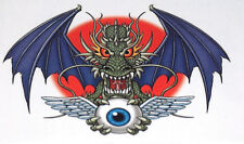 2004 NEW Steve Nazar Designs Totally Boy Dragon W/ Eyeball Non-Toxic Temp Tattoo