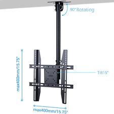 Ceiling TV Mount Adjustable Pole/Tilt for Vizio Samsung LG 32-55inch Flat Screen