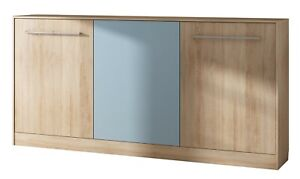 Horizontal Wall Mounted BED ROGER 90x200 cm colours