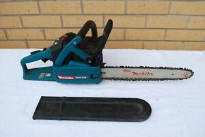 "Makita DCS 340 Petrol Chainsaw in good working condition 14"" blade"