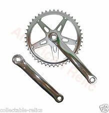 Cotterless Cranks 3 Piece Pr Chrome Vintage Classic Old School Bicycle Bike 2091