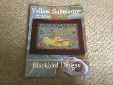Yellow Submarine Cross Stitch Pattern By Blackbird Designs