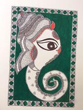 Ganesha Madhubani Mithila handmade painting/home decor/housewarming gift