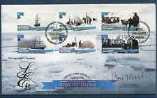 Ross Dependency 2015 Ships, Arctic Expedition, Limited Edition First Day Cover