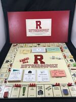 1992 RUTGERSOPOLY MONOPOLY BOARD GAME RUTGERS UNIVERSITY SCARLET KNIGHT FOOTBALL