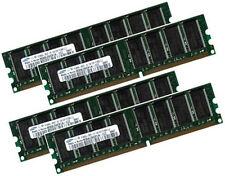4x 1GB = 4GB RAM für Medion PC MD8083 (03/2004) Speicher 400 Mhz 184Pin