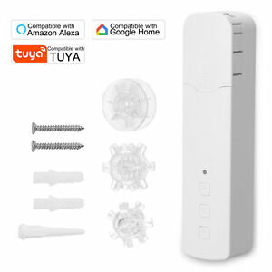 Tuya WIFI Smart Pull Bead Curtain Motor Electric Curtain Motor APP Voice Control