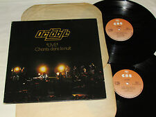 OCTOBRE Live Chants Dans La Nuit 2-LP SET Double Live Album Quebec Canada Prog