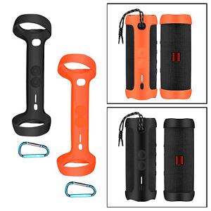 Silicone Case Cover Skin for JBL FLIP 5 Waterproof Portable Bluetooth Speaker