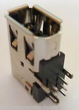 FireWire Stecker Einbaubuchse Steckverbinder gewinkelt vertikale Print Lötbuchse