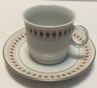 Tea Cup Saucer Made in Liling China
