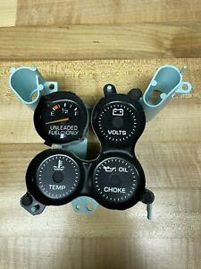 1978 1985 Chevrolet Monte Carlo El Camino Malibu Fuel Gauge Indicator Lights