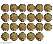 23 x 2 Euro Gemeinschaftsausgabe 2015 30 Jahre Europaflagge Komplettsatz m.ADFGJ
