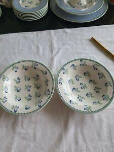 VILLEROY & BOCH  PROVENCE 2 x  Suppenteller  19,5 cm tiefer Teller Salatteller