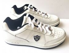 106486038ed Oakland Raiders Shoes - NFL Reebok White Recline - Mens Size 6 Sneakers