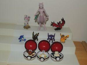 Pokemon Nintendo Figures - small loose lot figurines