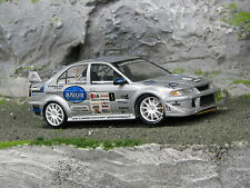 QSP Mitsubishi Lancer Evo Vll 1:24 #1 Swaanen / van Hout LG Almere Rally 2007